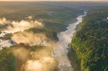适合做壁纸的伊瓜苏河景