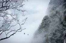 天门山玻璃栈道   期待已久的天门山雪景  个人建议:选择A线,索道上,环保车下