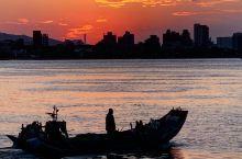 欣賞淡水老街的夕陽,巧遇寺廟百年做醮大典