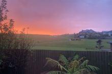 皇后镇的晚霞就是那么的动人心魄!  #没滤镜没P图 #欢迎来新西兰旅游 #记得找新西兰旅游肖恩 #新