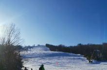 蓝山滑雪泡温泉,好不惬意