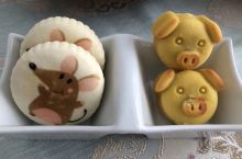 #Q萌的美味# 稻香村的糕点这么萌萌哒,都不忍下口了