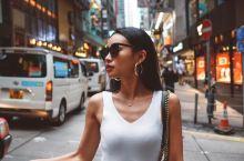 【香港】超小众街拍指南 周末没事干就和男友去了趟香港买买买+拍拍拍 这次主要去了两个地方:中环涂鸦街