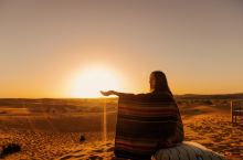 三毛笔下的撒哈拉沙漠 心心念念的撒哈拉沙漠,因为看过三毛的撒哈拉的故事,所以特别想来这里,这次到摩洛