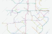 中国高铁及动车运行图,做成地铁图模式,转车方便了。收藏起来。
