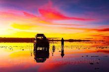 我在乌尤尼盐湖