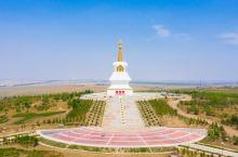 自驾内蒙古 两河圣山位于海拉尔正北小龙山至敖包山之间、海拉尔河与伊敏河交汇处。 其中的慈积金刚塔为藏