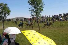 新疆哈萨克小巴郎赛马节