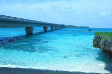 海上的一道靓丽风景——池间大桥 我从宫古本岛去到池间岛要通过一条长约1.5公里的大桥,在通过这座大桥