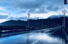 台风天的风景