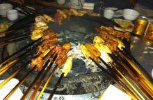 火盆烧烤。