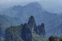 今天的天门山是最累的!4A景区不是浪得虚名的景色!
