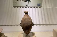尖底双耳瓶,仰韶文化遗址出土