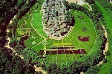 昆明宜良五彩稻田,美到令人窒息的大地画卷。献礼新中国诞辰70周年
