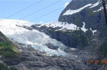 挪威峡湾的冰川