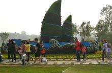 秦皇岛鸽子窝公园面积很大,靠近海边,景色很美。