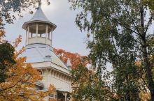 赫尔辛基蝶略湾的鸟鸣径(Linnunlaulu)是看秋色的好地方。途中还可以在蓝色别墅咖啡馆喝杯咖啡