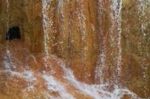 黄龙金沙飞瀑