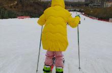 冬天滑雪的季节,女儿的最爱。