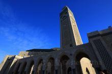 哈桑二世清真寺,世界第四大清真寺,外观朴素,内部肃穆,值得一来~