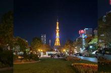 晚上从大通公园走回三井花园酒店,会路过旧政厅,走到那个什么世纪皇家酒店的时候,回望札幌站,能看到札幌