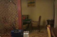 房间很大,还有麻将桌,很好