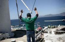 希腊,雅典邮轮出发,在地中海航行5个小时,到底米科诺斯岛 小威尼斯 天堂海滩 ;天堂海滩,是全球著名