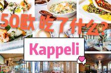 赫尔辛基豪华吃  餐厅: kappeli 味道不错,好贵,好火,建议提前预约 Makaslini,a