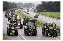 海牙农民又上高速游行了。