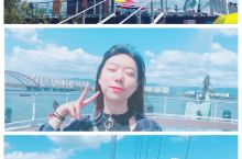 和我一起来一场逃离城市的旅行吧 碧海蓝天和美食! 有时候也会想要逃离首尔这个充满焦躁和努力的大都市
