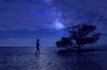 薄荷岛旅拍客片:巴里卡萨的夜空 巴里卡萨岛