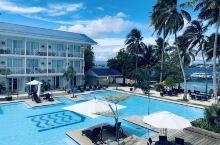 位于菲律宾达沃 samal island的网红酒店 刚开业两年 刷爆朋友圈 酒店全部北欧风格 中间有
