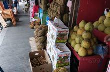 靠近Chinatown融合门的榴莲一条街,60到100比索一公斤,有桌椅可以坐下来吃完再走,斑马线对