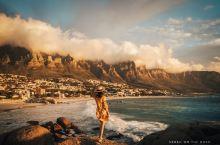 开普敦最美海滩日落!South Africa!! 大西洋的海风凛冽,在开普敦第三天,狂风中守候一场日