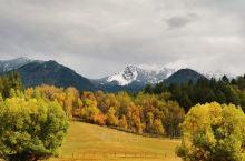 大提顿国家公园,很遗憾没有看到雪山群峰,但风景还是不错