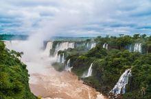 认真的想一想,之前还真的没有见过这样大的瀑布,而且伊瓜苏瀑布跟很多的瀑布还不一样,因为瀑布群众多的缘