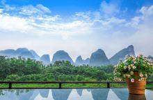 桂林的山水是儿时的梦,来一次圆梦之旅 《阳朔印月度假酒店》 酒店与西街一江之隔,漓江东岸最佳观景地,