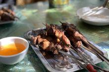 喀什老城,香香的烤肉!!
