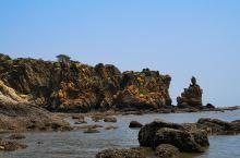在茫茫大海中抬眼忽然见到一座观音似的岛礁,冲击力度好大呀!