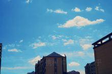 蓝天与白云 宁静与祥和