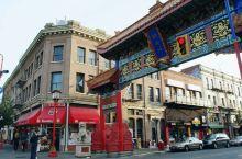 即使是遥远的加拿大的小城市维多利亚,依然能看到熟悉而又陌生的唐人街。 说熟悉是因为确实是中国风,红墙
