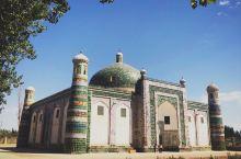 【喀什】香妃墓和玉素甫墓 喀什市区内除了古城 似乎也没什么可逛的 于是就去了香妃墓和玉素甫墓 香妃墓