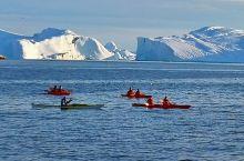 格陵兰岛冰峡湾
