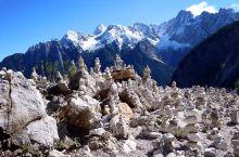 今天安排了一个导游带我参观位于斯洛文尼亚、奥地利和意大利的交界处的阿尔卑斯山脉 。  开车参观过程中