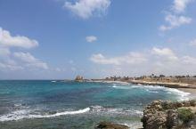 以色列   凯撒利亚罗马古城,地中海岸边古朴雄岸,仿佛穿越到了欧洲