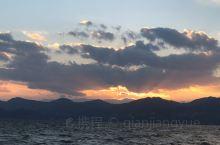 抚仙湖的日落,美美哒,听见风声了吗?