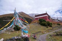 桑达寺,一座十分精美的苯教寺院  前往萨普神山的路上,一定会经过的桑达寺。1183年就已兴建的正儿八
