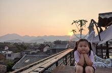 黄姚古镇的夕阳与日出