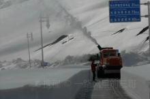 独库公路下雪了
