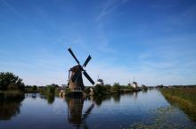 莱茵河之旅——小孩堤防风车群,列入联合国科教文组织世界遗产名录的荷兰最知名景点之一(5)。